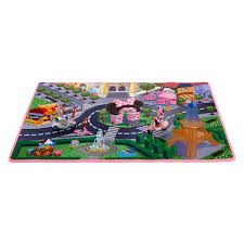 decorations kids playroom rug minnie mouse monsters inc rugs colorful safari for nursery figaro round pink
