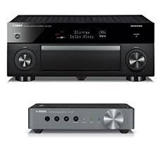 yamaha wxa 50. yamaha rx-a3070 network av receiver with wxa-50 musiccast wireless streaming amplifier wxa 50