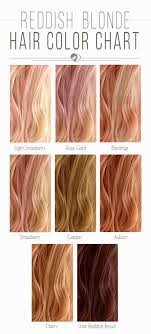Light Red Hair Color Charts Hair Color 2017 2018 Reddish Blonde Hair Color Chart