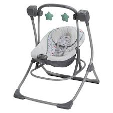 Amazon.com : Graco Cozy Duet Swing Plus Rocker, Lambert : Baby