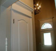 Doorway Trim Molding Exterior Door Casing Trim Example Of Front Door Kit With Flat