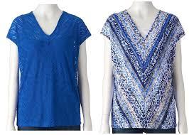 Dana Buchman Size Chart Dana Buchman Textured V Neck Top Tank Blue And 50 Similar
