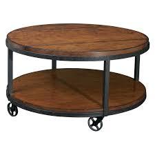 Round Coffee Table Ashley Furniture Hammary Baja Round Coffee
