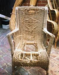 cane chair repair near me. Delighful Chair Seagrass Chair  Before Repair In Cane Near Me T