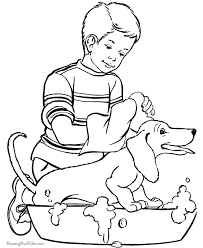 dog animal coloring pages fun page of pet dog animal coloring pages pets printable cooloring com pet animals on pets for coloring