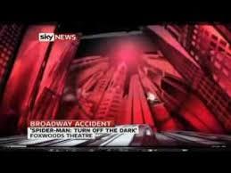 Spider Man Stuntman Falls On Broadway Learnenglish Teens