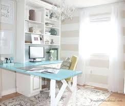 office makeover ideas. Feminine Office Home Makeover Ideas Decor Space