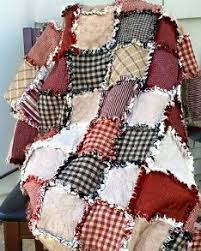 My Cute Idea: American Flag Rag Quilt | Sewing & Quilting ... & Rag Quilt - red, white, and blue Pinner said: I have actually made one of  these. Get cheap blue jeans from garage sales. Adamdwight.com