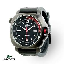 lacoste men s seasport black silicone 2010416 watch lacoste lacoste men s seasport black silicone 2010416 watch