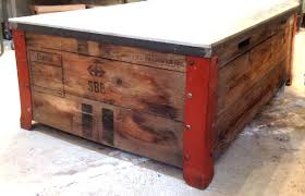 packing crate furniture. Packing Crate Coffee Table Garden Furniture From Wooden Pallets