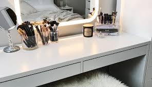 es set makeup bathrooms wheels setup small primark bedroom ideas case room mirror desk surprising diy