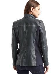 leather utility moto jacket gap