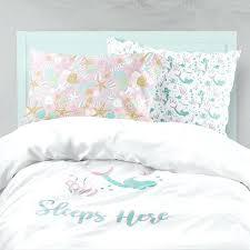 mermaid bedding set stylish mermaid bedding pink aqua bedding mermaid girl room ocean mermaid bedding set