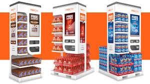 Kiosk Vending Machine Adorable Automated Free Sample Kiosks Thwart Your Complimentary Gorging