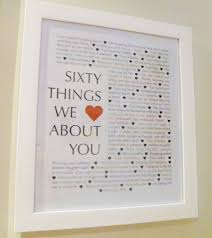 Milestone Birthday Gifts Things We Love About You Gifts This