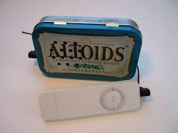 6. Altoid Case Speakers