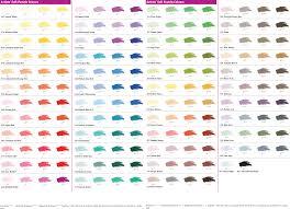 Sennelier Soft Pastel Color Chart Www Bedowntowndaytona Com