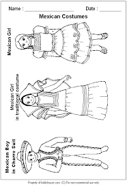 Small Picture mexican clothing coloring page Being Mexican My Heritage