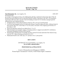 Hr Manager Resume Examples Examples Of Resumes