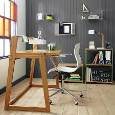 simple wood desk filterstockcom