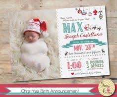 Christmas Birth Announcement Ideas 23 Best Christmas Birth Announcements Images Christmas Cards