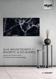 sigel artverum magnetic glass