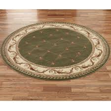 Bathroom Ideas Elegant Creamy Flower Shaped Round Bathroom Rugs