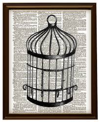 Peculiar Anor Set Also Bird Cage ...