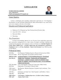 Construction Resume Objective Examples Sarahepps Com