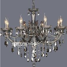 get ations crystal candle chandelier lamp living room lamp lights eight restaurants smoke gray lighting fixtures special