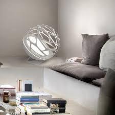 studio italia design kelly sphere contemporary round table lamp