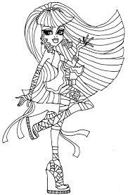 Small Picture Monster High Coloring Pages Pdf Miakenasnet