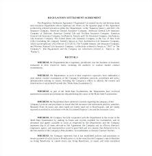 Separation Agreement Sample Images - Agreement Letter Format