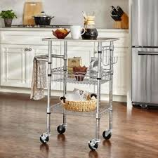 Kitchen counter with food Restaurant Image Is Loading Smallstainlesssteelkitchencartapartmentextracounter Huffpost Small Stainless Steel Kitchen Cart Apartment Extra Counter Food