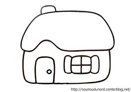 Coloriage Maison Blanche Superbe Mod Le Coloriages De Maisons Avec