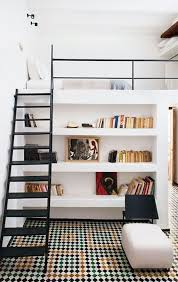 Bedroom: Bedroom Lofted With Full Kitchen - Clever Loft Beds