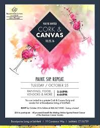 Benefit Flyer Wording Breast Cancer Party Invitations Scorev Pro