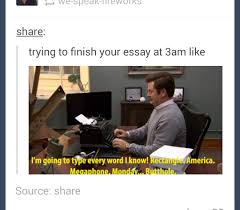 finishing an essay
