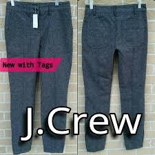 J Crew Denim Size Chart New J Crew Stretch Skinny Herringbone Pants 00 Xs Nwt