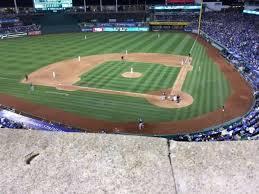 Kauffman Stadium Section 415 Row A Home Of Kansas City Royals