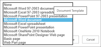 dotx file extension set a custom template for a sharepoint library office support