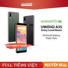 Điện thoại Umidigi A3s, Pin 3950, 2GB + 16GB, Camera F2.0