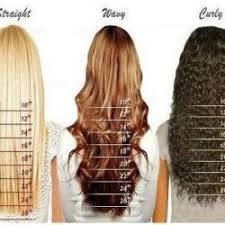 Clip In Hair Extension Length Chart Hair Length Curly Hair Styles Wig Hairstyles Hair Lengths