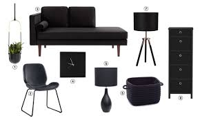Black home decor Edgy Top 10 Home Decor Trends For 2019 Matte Black Furniture Overstock Home Decor Trends Youll See Everywhere In 2019 Overstockcom