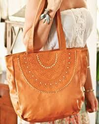ophelia boho leather bag