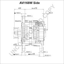 prestolite leece neville avi168w side dim drawing output curve avi168w output curve wiring diagram