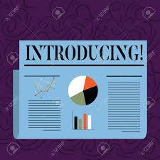 First Meeting Chart Text Sign Showing Introducing Business Photo Text Presenting