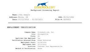 employment dates verification resume background check employment verification sample report wrong
