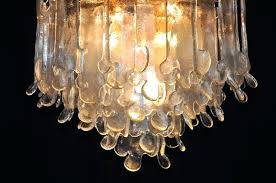 brown glass chandelier add to cart brown blown glass chandelier