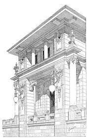 architectural buildings sketches. Unique Buildings Architectural Sketch Architect Ladislaus Fiedler For Buildings Sketches S
